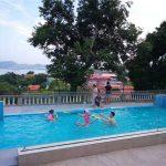 100mm 150mm dik luukse swembad akriel plexi glas glas vir groot swembaddens