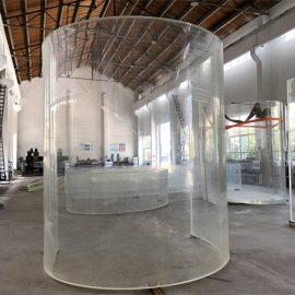 geboë luciet acryl plexi glasplaat vir oseaan akwarium