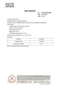 SGS toets sertifikaat EN