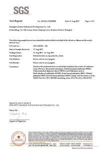 ROHS toets sertifikaat EN