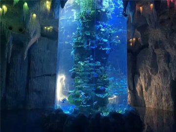 deursigtige akrielpanele vir groot akwarium, vistenks